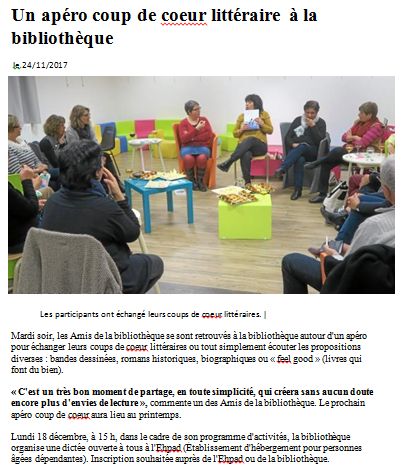 Bibliothèque apéro