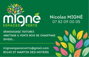 CARTE DE VISITE MIGNE