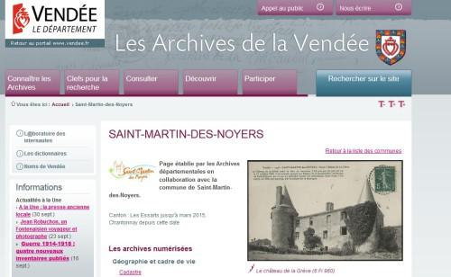 archives départementales page st martin des noyers