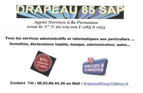 logo drapeau 85 sap